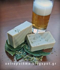 soap for hair with beer Diy Furniture Wax, Chamomile Essential Oil, Essential Oils, Natural Cosmetics, Home Made Soap, Soap Making, Diy Beauty, Bath And Body, Etsy Handmade