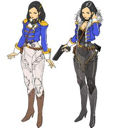 Draft of Project TF Main Character Female Character Design, Character Design References, Character Development, Character Design Inspiration, Game Character, Character Concept, Concept Art, Sci Fi Characters, Fantasy Inspiration