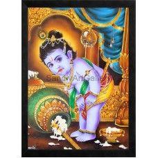 Krishna Butter   #Ravivarmapaintings #Artgallery