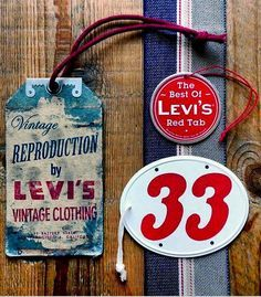 """""""The Best of Red Tab"""" by Levi's Vintage Clothing."""