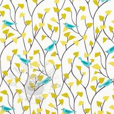 SALE ORGANIC Cotton Fabric, Quilting Weight textile, Pink Birds print from By the Half-Yard or Fat Quarter, for Baby Kids bedding, c Cloud 9, Cotton Clouds, Toddler Pillow, Spring Birds, Pink Bird, Fabric Houses, Fabric Shop, Fabric Birds, Organic Modern