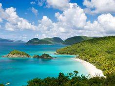 Trunk Bay, St. John, Virgin Islands, Caribbean