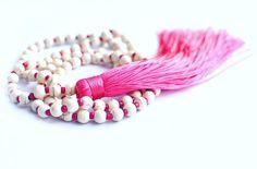 Pink tassel necklace from Peachique.com!! #etsyshop #etsyelite #shoponline #picoftheday #photooftheday #tassel #pinktassel #tassels #tasselnecklace #boho #bohochic #bohemian #gypsy #hippie #bohostyle #bohojewelry #shoplocal #madeinamerica #madeinhawaii #hawaii #fashion #musthave