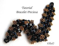 TUTORIAL Bracelet Preciosa - Instant Download PDF