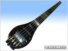 All Stainless, Headless, Fretless Bass, Medium Scale by Nishimura Co., Ltd.