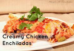 Creamy Chicken Enchilada Recipe - Attempts At Domestication