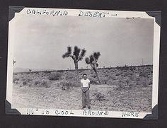 Larry, Mojave Dessert, CA 1940