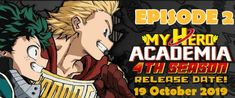 My Hero Academia Season 4 Episode 2 Watch Online - My Hero Academia Season 4 Episodes 23 November, My Hero Academia Episodes, He Is Able, Episode 5, Season 4, Super Powers, Boku No Hero Academia, Anime, Cartoon Movies