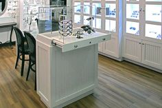 Optical Dispensing Tables, Optical Dispensing Furniture : IOD Displays