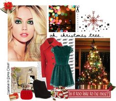 """""""OH! CHRISTMAS"""" by marcellachristian97 on Polyvore"""