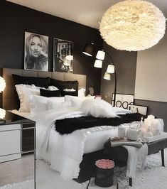 Werbung/Advertisement ( Markennennung) Enjoy the Cute Bedroom Ideas, Cute Room Decor, Room Ideas Bedroom, Home Decor Bedroom, Bedroom Ideas For Small Rooms Women, Small Bedrooms, First Apartment Decorating, Aesthetic Room Decor, Stylish Bedroom