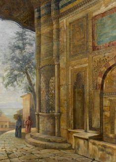 Fountain by Sevket Dag (Turkish, 1876–1944)
