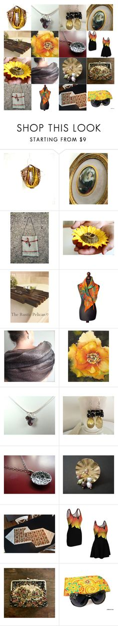 """""""It's a Treasure!"""" by inspiredbyten ❤ liked on Polyvore featuring vintage"""