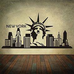 NEW YORK CITY Skyline Silhouette Art Sticker Statue de la... https://www.amazon.fr/dp/B0177WIEP6/ref=cm_sw_r_pi_dp_ymUAxbRQRZ81G