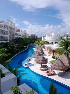 Unplugg from the daily routine and enjoy beach vacations at Excellence Playa Mujeres. #AdultsOnlyVacations