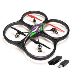 Sceek.com Best Drones 2015: RotorLogic V262 V2 Cyclone Quadcopter Drone UFO 2.4G RTF with Camera