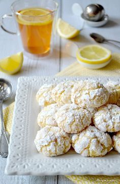 Biscuits moelleux au citron,