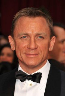 Gotta say this -- I think Daniel Craig is the best James Bond (well Sean Connery was incredible too). Craig is a hottie.