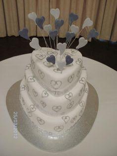 Engagement Cake Engagement Cakes, Engagement Ideas, Wedding Engagement, Fondant Cakes, Cupcake Cakes, Cupcakes, Party Cakes, Engagements, Cake Designs