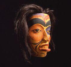 Mask, Face of a Woman ~ Bill Reid, (Haida) 1970