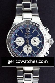 Maiken Group - Pre-Owned Breitling Hercules with Blue Dial, $2,750.00 (http://stores.gericowatches.com/breitling-hercules-with-blue-dial/)