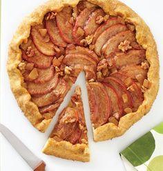 Apple-Walnut-Ginger Galette / Kat Teutsch