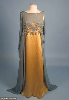 LIBERTY & CO. AESTHETIC EVENING GOWN, 1908-1910 by SayaValentine