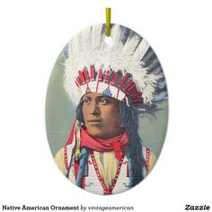 Native American Ornament