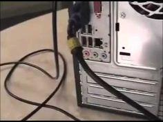 Cómo instalar un computador. Aprende a conectar la impresora, el escáner, el teclado y el ratón.