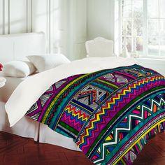 $189 Kris Tate Huipil 2 Duvet Cover