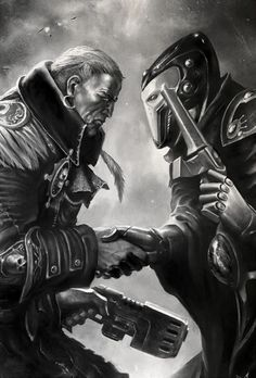 """captainblacklobster: """" The fate of Cadia and the entire galaxy may lie in the unlikely alliance of Eldar and Man. Neither side trusts the other but without their assistance the Realm of Chaos may spill out into real space. """""""