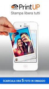 Dai libero sfogo alla tua creatività con PrintUp! Per iPhone.
