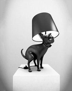 Chihuahua Pooping Dog Lamp