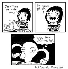 Sarah's Scribbles by Sarah Andersen Wednesday, August 20, 2014