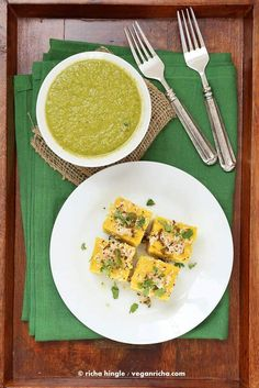 Khaman dhokla easy to make homemade gujarati snack recipe by ruchi khaman dhokla easy to make homemade gujarati snack recipe by ruchi bha chatsquick eats pinterest snacks homemade and easy forumfinder Images