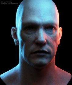 All sculpted and painted manually with ZBrush and Substance Painter. 3d Face, Zbrush, Rigs, Sculpting, Animation, Artwork, Fictional Characters, Wedges, Sculpture