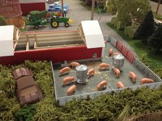 Toy tractor new series on how to build a high for 1 64 farm layouts
