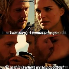 Thor and Jane. No, I am not fangirling right now..