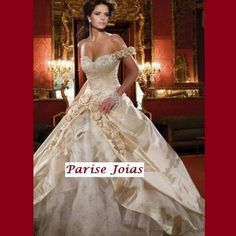 VESTIDO DE NOIVA VN00016 - Vestido de noiva em cetim com bordados. Nossos vestidos são produzidos sob medida. Vestido Importado. Só R$ 3.049,00!!!