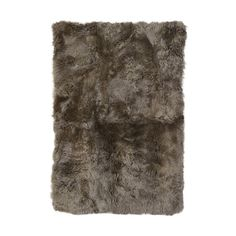 DwellStudio Sheepskin Longwool Natural Area Rug