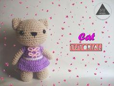 How To Crochet A Cat Amigurumi [FULL TUTORIAL] - YouTube