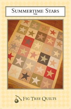 Summertime Stars by Fig Tree