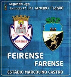 CLUBE DESPORTIVO FEIRENSE: Feirense vs Farense | Antevisão