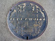 Ikoma Nara, manhole cover 3 (奈良県生駒市のマンホール3) | Flickr - Photo Sharing!