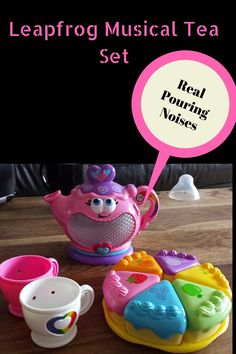 Leapfrog Musical Tea Set (see lots of pictures)