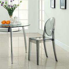 Create a modern look to your dining area with the Modway Casper Dining Side Chair. This distinct chair provides a creative energy that will assuredly liven up the spirit of your culinary décor. Modern Dining Chairs, Dining Room Chairs, Side Chairs, Living Room Furniture, Dining Area, Dining Table, Kitchen Stools, Counter Stools, Bar Counter