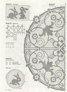 Фото, автор mad1959 на Яндекс.Фотках Crochet Dollies, Easter Crochet, Cross Stitch Pillow, Cross Stitch Embroidery, Filet Crochet Charts, Fillet Crochet, Graph Design, Crochet Fashion, Vintage Crochet