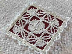 Reticello, Giuliana Buonpadre, Broderie, Embroidery,