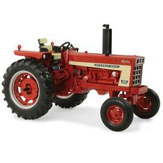IH 1:16 666 Hydro Tractor - Prestige Collection | 1:16 Scale | ShopCaseIH.com This 1:16 scale Hydro Prestige vehicle is a must have for any collection. It features die cast IH wheels, flat top fenders, realistic drawbar, and a working 3-point hitch. For ages 14 years and up. #InternationalHarvester #tractor