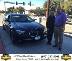 https://flic.kr/p/ANJniV | Happy Anniversary to Robert on your #BMW #7 Series from Aime Cruz at Auto Web Expo Inc! | deliverymaxx.com/DealerReviews.aspx?DealerCode=J789